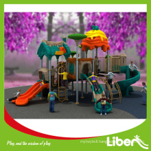 Brand New Design Commercial Outdoor Plastic Slides Type Playground Equipment, School Playgrounds for Children